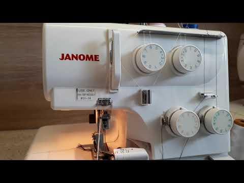 Как научиться шить на оверлоке с нуля видео уроки