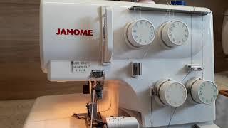 швейная машина, оверлок Janome HQ 075D ремонт