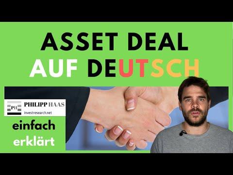 Asset Deal - was ist das?