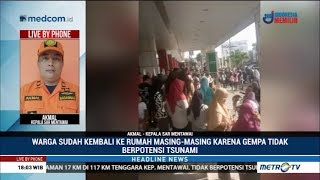 Download Video Warga Menyelamatkan Diri Usai Gempa di Mentawai MP3 3GP MP4