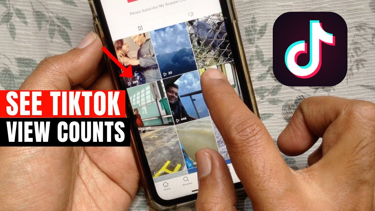 How to See View Counts for Your TikTok Videos - YouTube