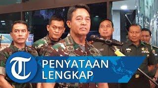 Pernyataan Lengkap KSAD Andika Perkasa soal Pencopotan 3 Prajurit TNI akibat Unggahan sang Istri