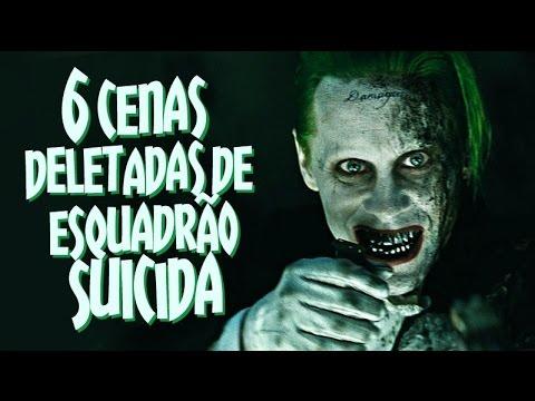 6 CENAS DELETADAS DE ESQUADRÃO SUICIDA | Omelista #32
