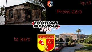 From zero to hero Episode 18 / Villa Española / Football Manager 2018 (CZ)