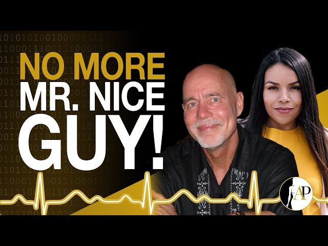 No More Mr.Nice Guy! Interview w/ Dr Robert Glover!