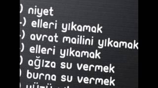 GÜSÜL ABDESTİ NASIL ALINIR AYRINTILI