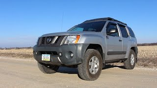 2005 Nissan xterra Drive and Review