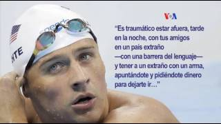 Ryan Lochte se disculpa por incidente en Río
