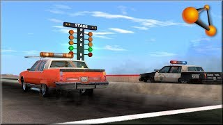 BeamNG Drive Insane Testing 1/4 Mile Drag Racing Track
