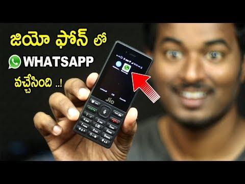 How to create new whatsapp account in jio phone