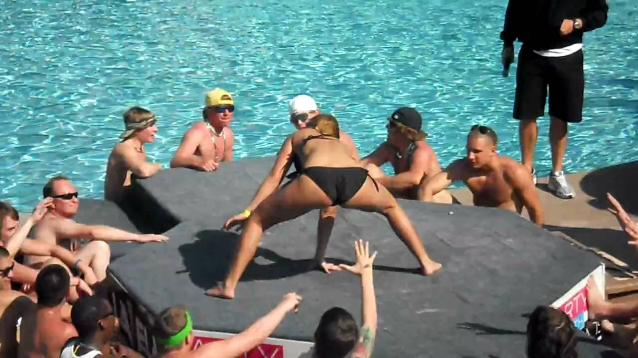 All wet spring break club orgy - 2 part 10