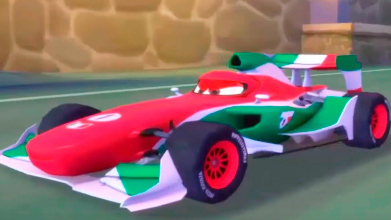 Disney Cars Race Casino Run Italy With Lightning Mcqueen