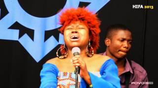 Prudence Katomeni Mbofana HIFA 2013 (LIVE)