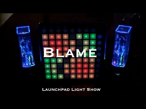 Calvin Harris - Blame (feat. John Newman) | Launchpad Light Show! [★PROJECT FILE★]