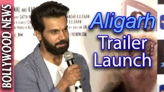 Latest Bollywood News - Manoj Bajpai And Raj Kumar @ Aligarh Trailer Launch - Bollywood Gossip 2015