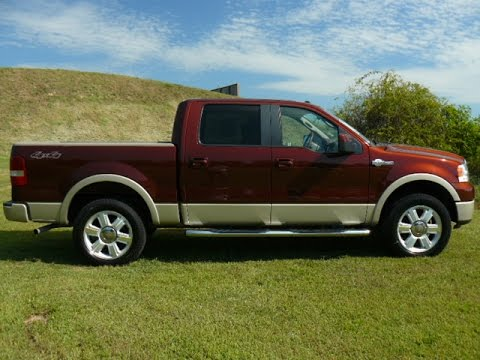 cheap trucks for sale 2007 ford f150 king ranch dx51715n youtube. Black Bedroom Furniture Sets. Home Design Ideas
