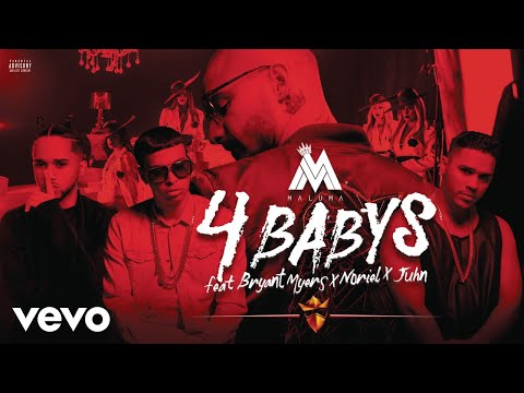 Download Youtube: Maluma - Cuatro Babys (Cover Audio) ft. Noriel, Bryant Myers, Juhn