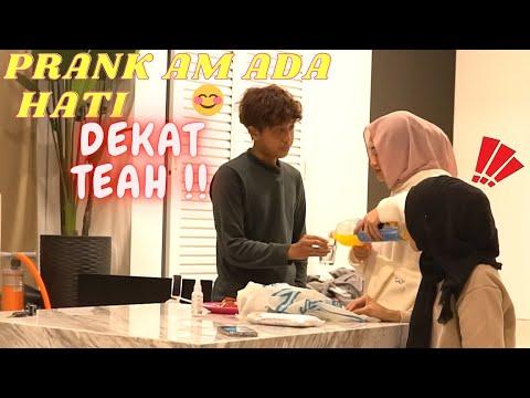 Download PRANK AM ADA HATI DEKAT TEAH !! - LISA TAK PERCAYA !!