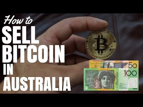 How To Sell Bitcoin In Australia