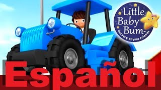 La canción del tractor | Canciones infantiles | LittleBabyBum