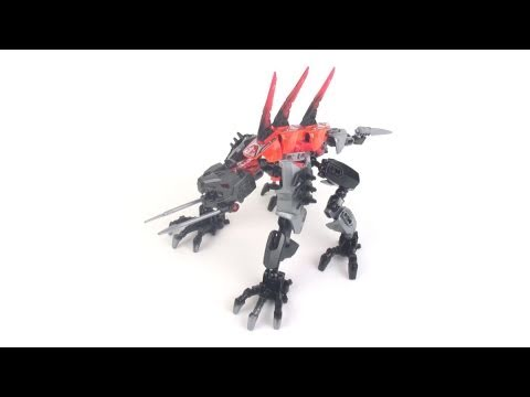 Lego Hero Factory Review Fangz Youtube