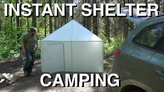 Instant Pop Up Shelter Camping