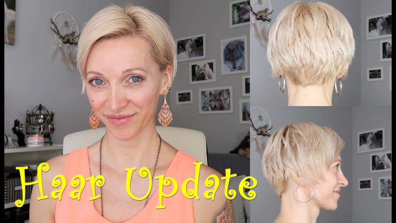 Pixie Rauswachsen Haar Update Monat 2 Youtube