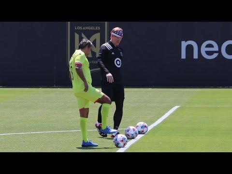 Download Pável Pardo y Alexi Lalas calientan el Juego de las Estrellas de la MLS
