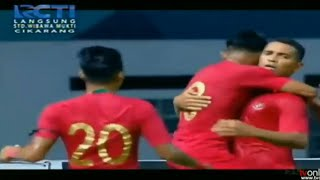 Goal BETO GONCALVES Indonesia vs Myanmar 1-0 Friendly Match 10/10/2018
