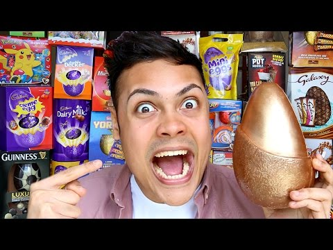 ALL BRITISH CHOCOLATE EASTER EGGS !!!