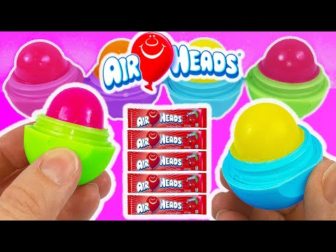 DIY: Make Your Own EDIBLE EOS AIRHEADS CANDY TREAT! Cherry,