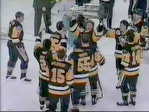 1992 Penguins Game 4 Postgame Celebration