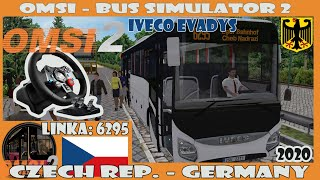 OMSI 2 (2020) - Cheb: 6295 - (IVECO EVADYS) Logitech G29 (Czech Republic)