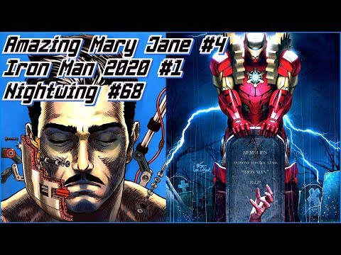 Новинки 15.01: Iron Man 2020 #1, Nightwing #68, Amazing Mary Jane #4
