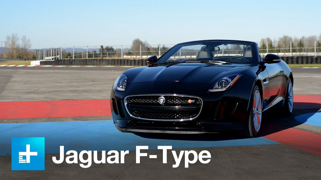 2014 Jaguar F Type Convertible Video Review   YouTube