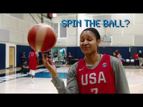 """Fast Break"" with Maya Moore"
