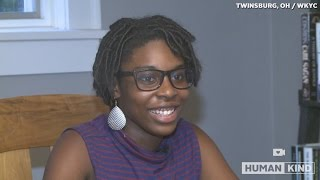 Girl Scout beat cancer at 16, now she