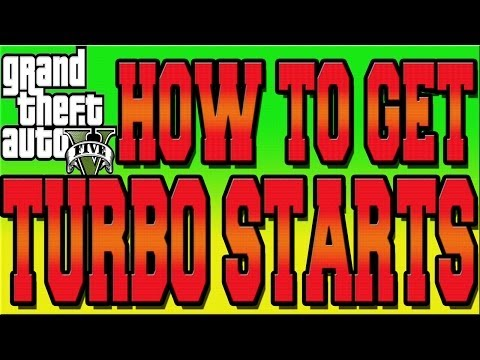 GTA 5 ONLINE RACE TURBO START TUTORIAL - HOW TO GET TURBO STARTS IN RACES (GTA V Multiplayer)
