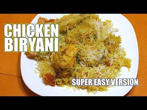 ⏰ Easy Chicken Biryani - Fast version Biryani - How to make Chicken Biryani - Biryani Recipes
