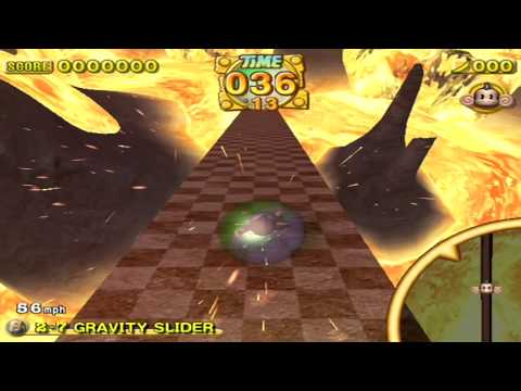 Super Monkey Ball 2 Video Quiz Response - Gravity Slider [10.38]