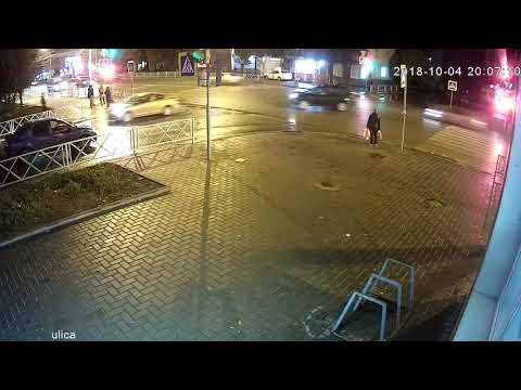 дтп Тамбов ул. Советская/1-ая Полковая 04.10.2018
