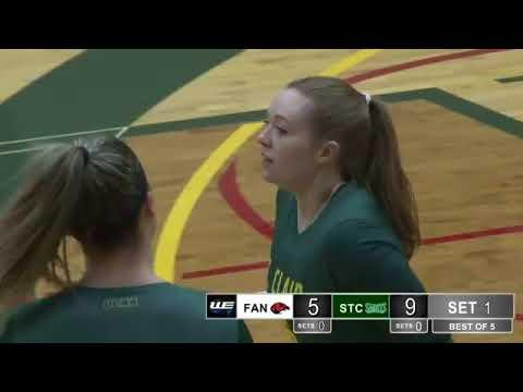 OCAA Women's Volleyball Live from St. Clair College Sportsplex Fanshawe College vs St Clair