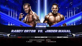 WWE 13 PS3 Gameplay - Randy Orton VS Jinder Mahal [60FPS][FullHD]