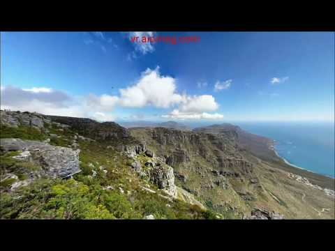 360° VR Table mountain national park cape town western cape ZAF