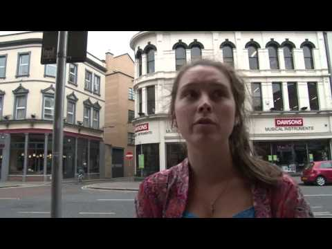 Video: Belfast shoppers give their reaction to the death of Ian Paisley