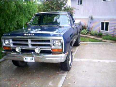 1988 Dodge Power Ram - YouTube