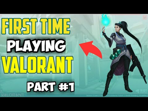 Valorant gameplay|best shooting game| My First Gameplay Experience #1