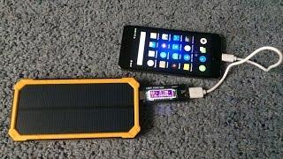 Tollcuudda Solar Power bank 10000 mah