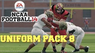 NCAA Football 14: Uniform Pack 8 Available Now!