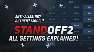 Standoff 2 All Settings Explained